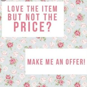 💝OFFERS WELCOMED💝